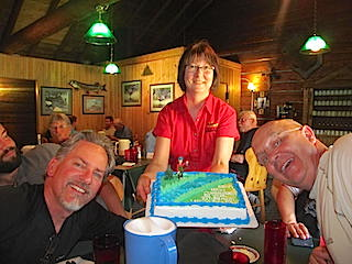 Congrats to Kenny & Kerry on Their Retirement Fishing at Fireside Lodge